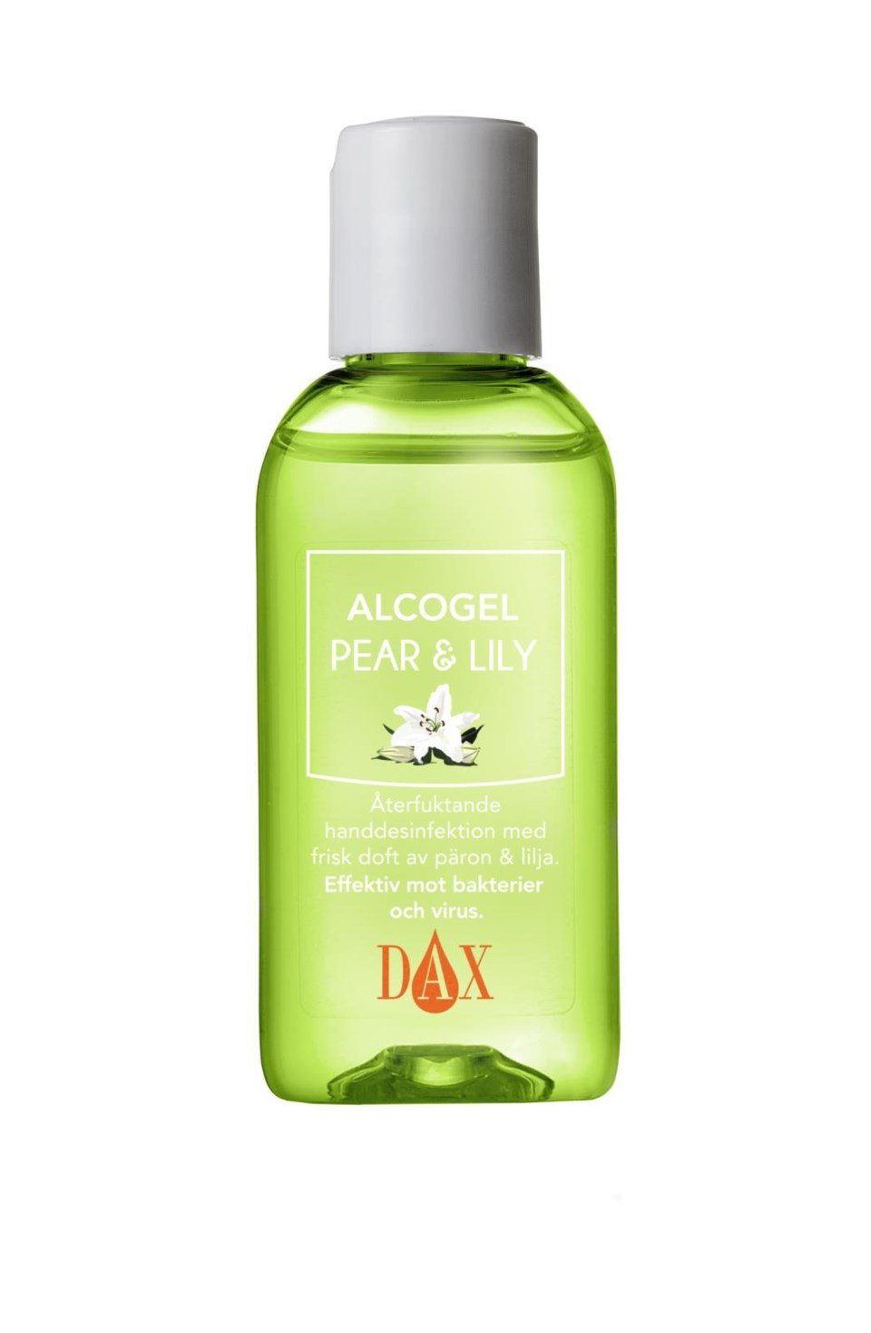 Handdesinfektion DAX Alcogel Pear & Lily 50 ml 51010109_1